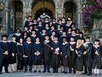 GEMBA graduates.