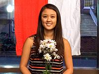 UG Senior Christina Ling